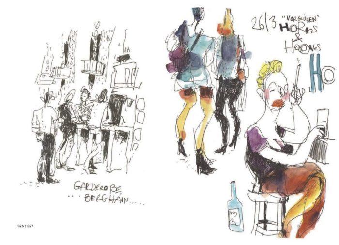 Scene da un clubbing